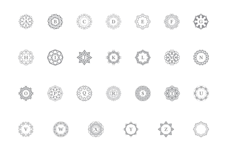 27 Vector Logo Monogram Kit Bundle example image 4