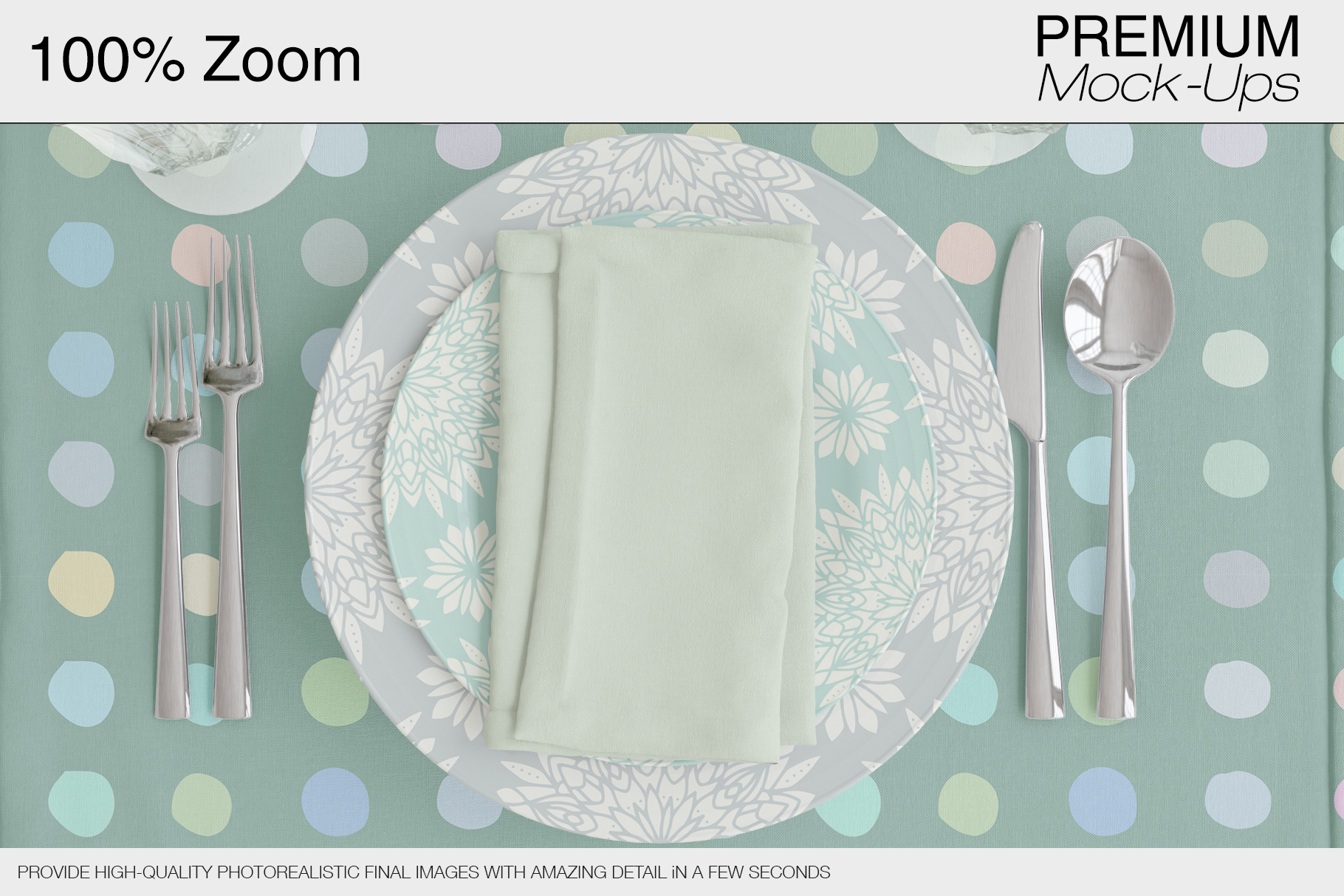 Tablecloth, Runner, Napkins & Plates example image 3