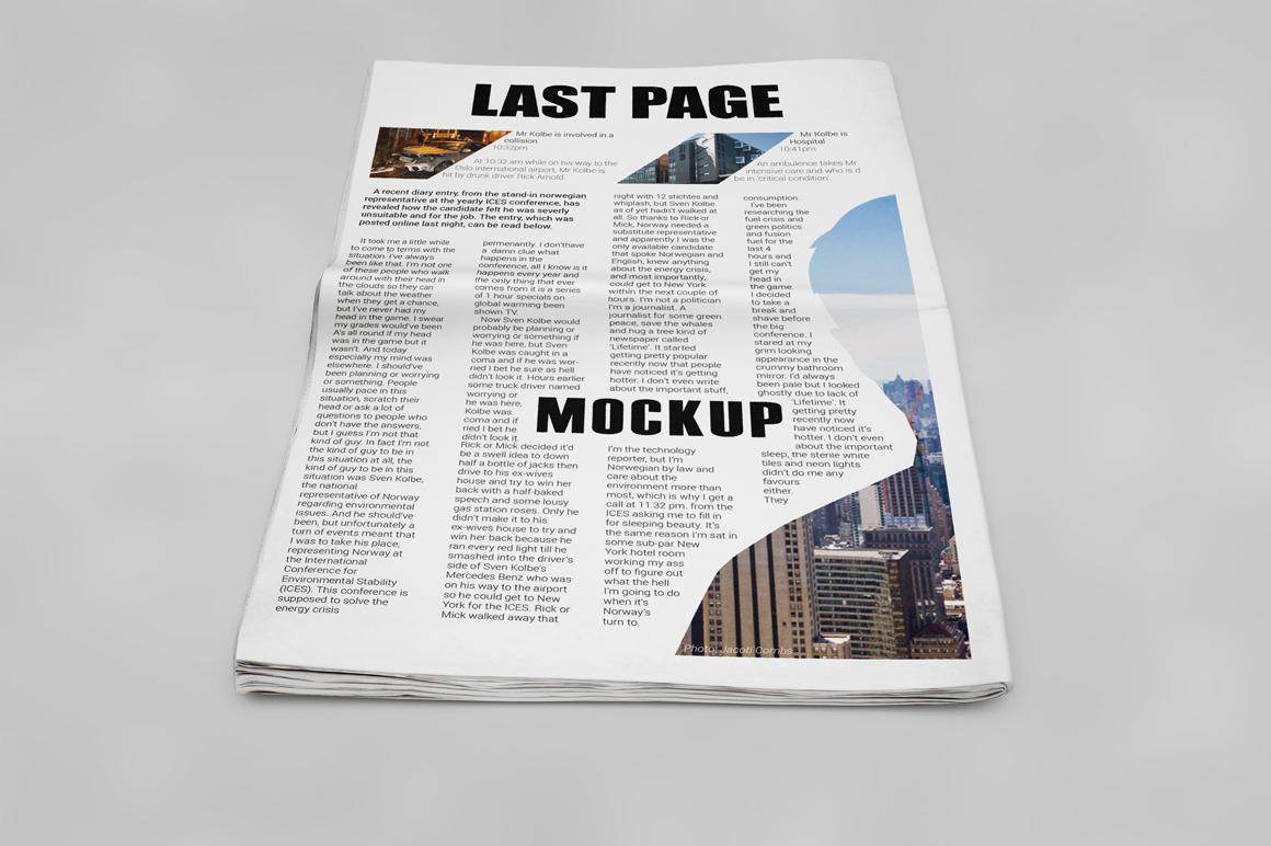 Newspaper Mockup example image 12