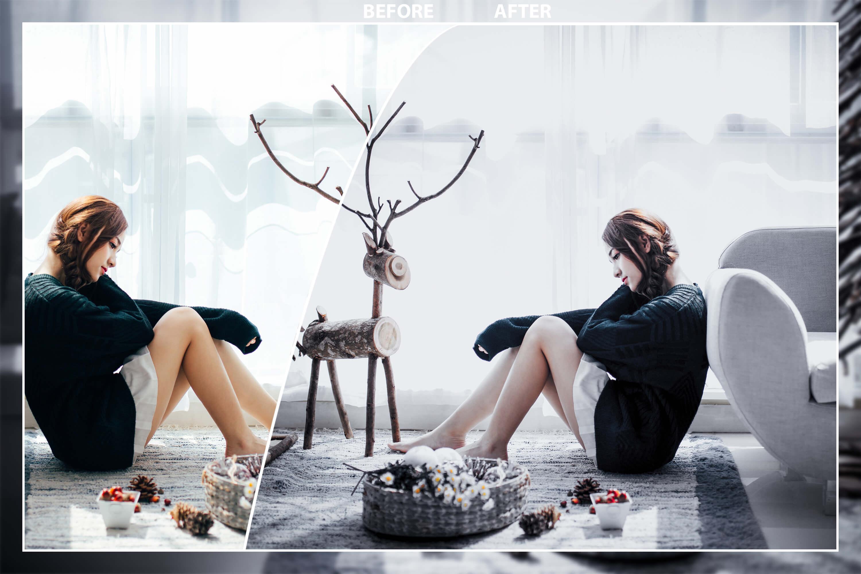 62 Christmas Mobile Lightroom Presets, X-mas Adobe LR preset example image 3