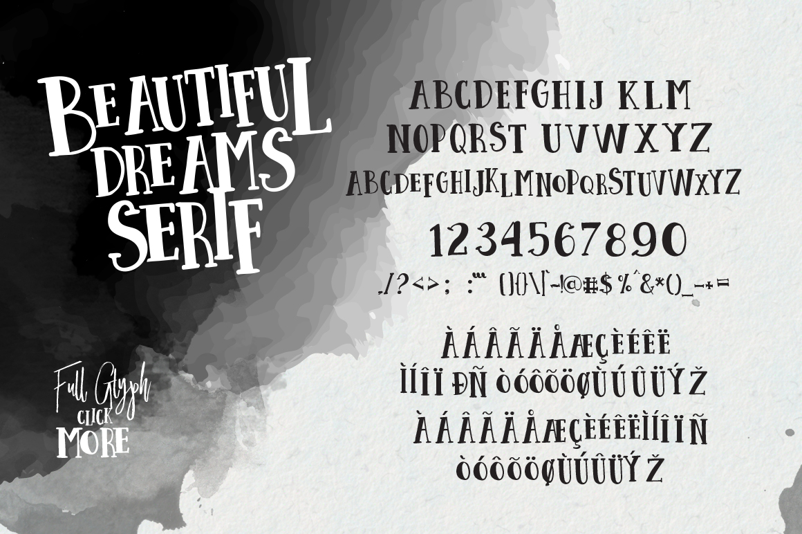 Beautiful Dreams - Font Duo example image 10