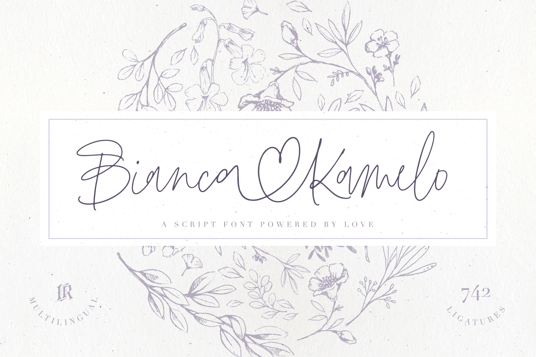 Bianca Kamelo Font example image 1