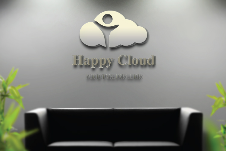 Happy Kid In Cloud Logo example image 4