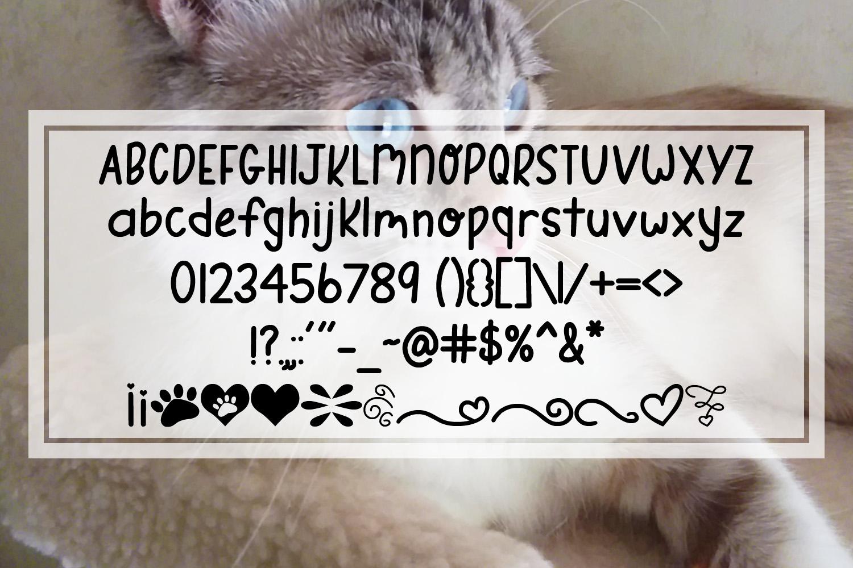 Gabi Girl - A Handwritten Font w/ Doodles by Digi Web Studio example image 2
