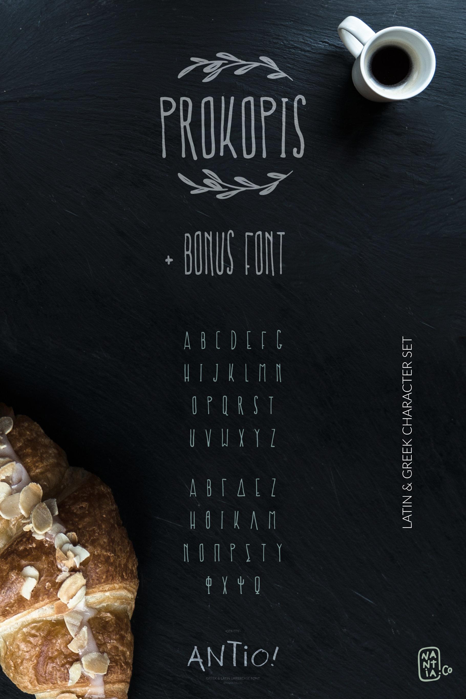 ANTIO! Prokopis   Font Duo example image 5