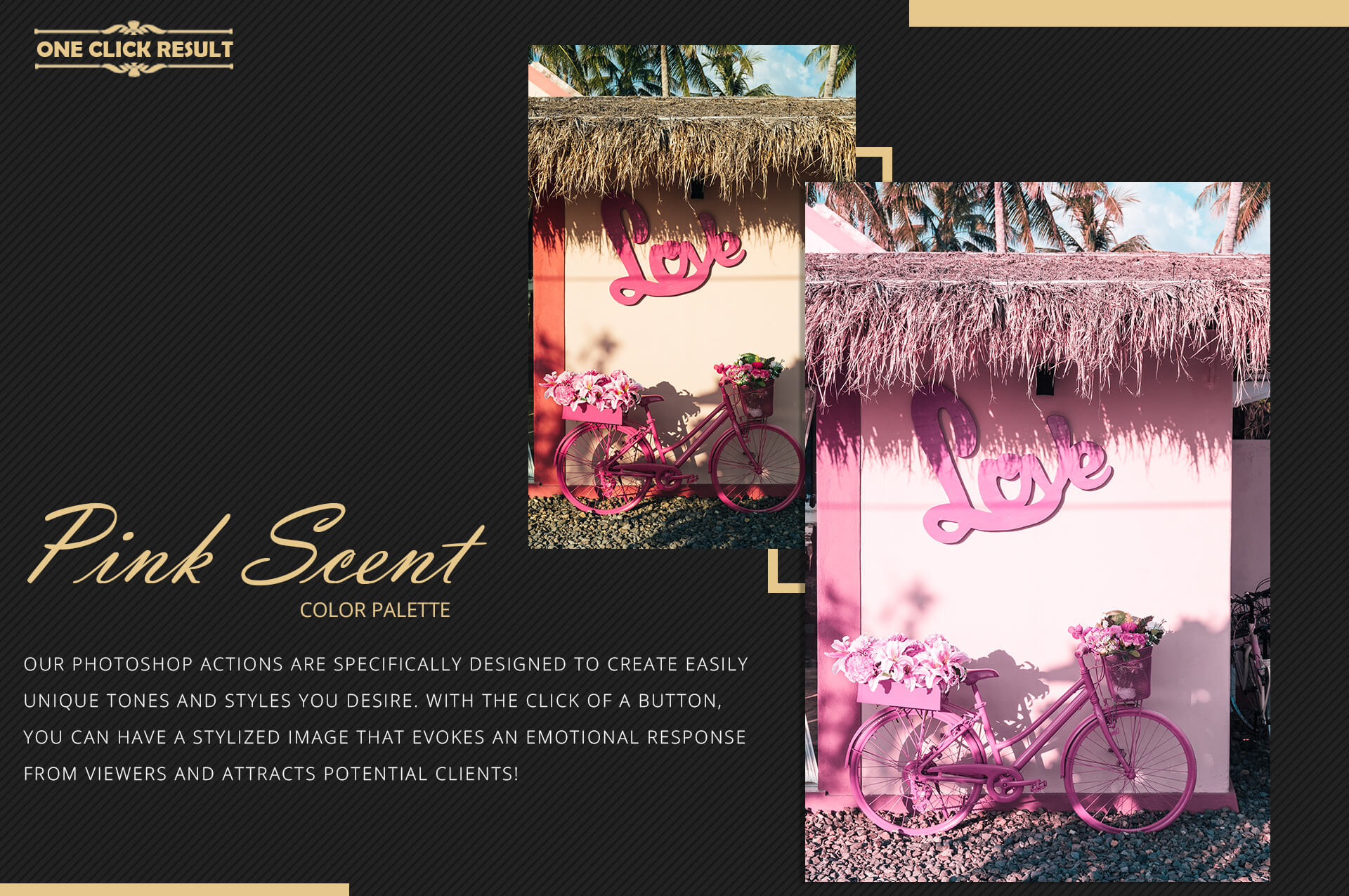 Neo Pink Scent Color Grading photoshop actions example image 8