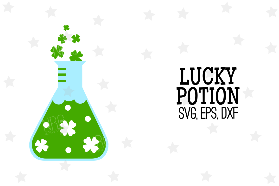 Lucky Potion SVG File example image 1