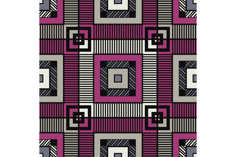 Tartan texture. Set of 10 seamless patterns. example image 1