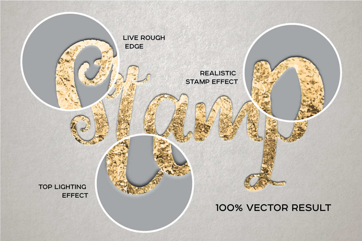 Vector Foiling Illustrator Effect example image 3