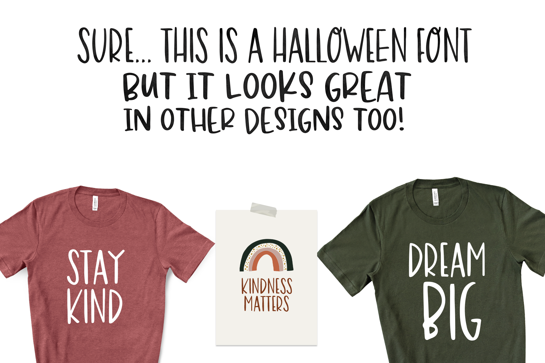 Halloween Moon - A Halloween Font with Extras! example image 14