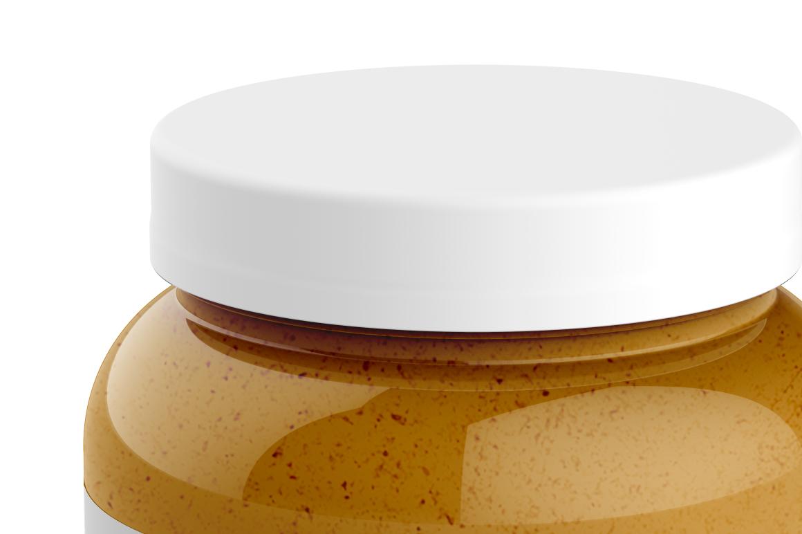 Glass Jar Mockup 1000ml example image 4