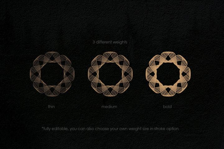 Geometric Patterns Kit example image 3
