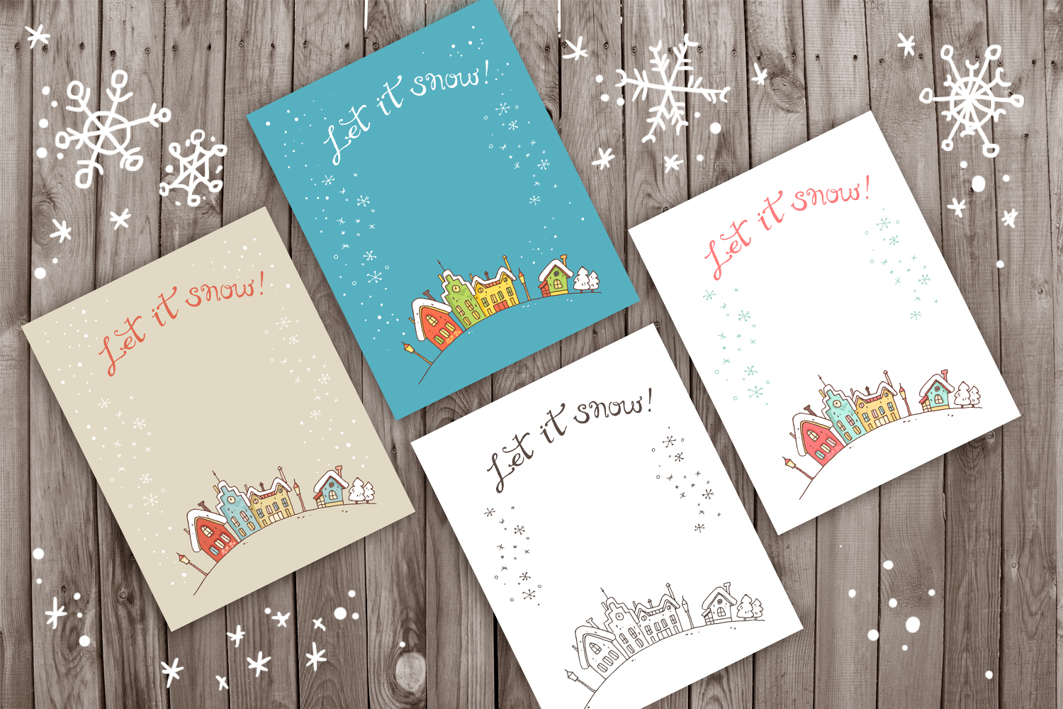 Winter Greeting Cards example image 5
