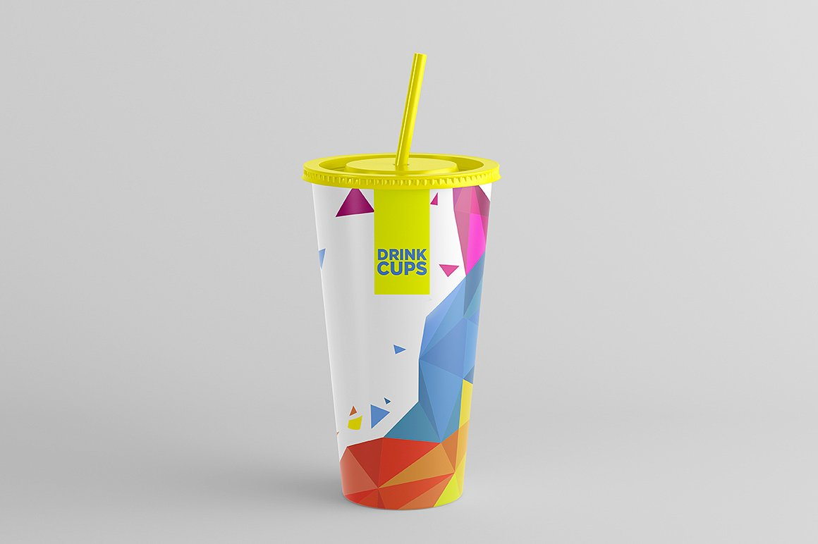 Drink Cups Mock-Up example image 7