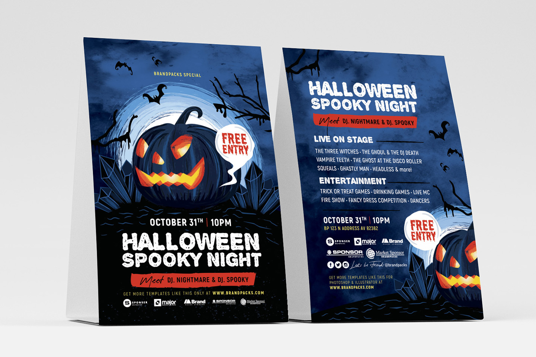 Halloween Flyer Templates example image 3