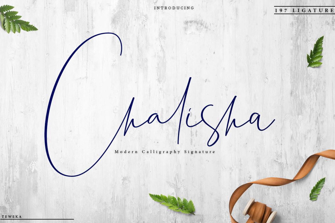 Chalisha Modern Calligraphy example image 1