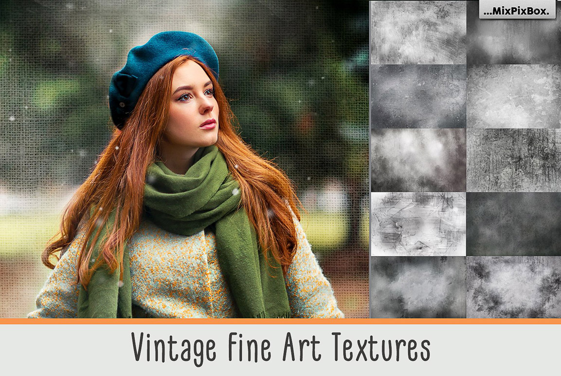 Vintage Fine Art Textures example image 1