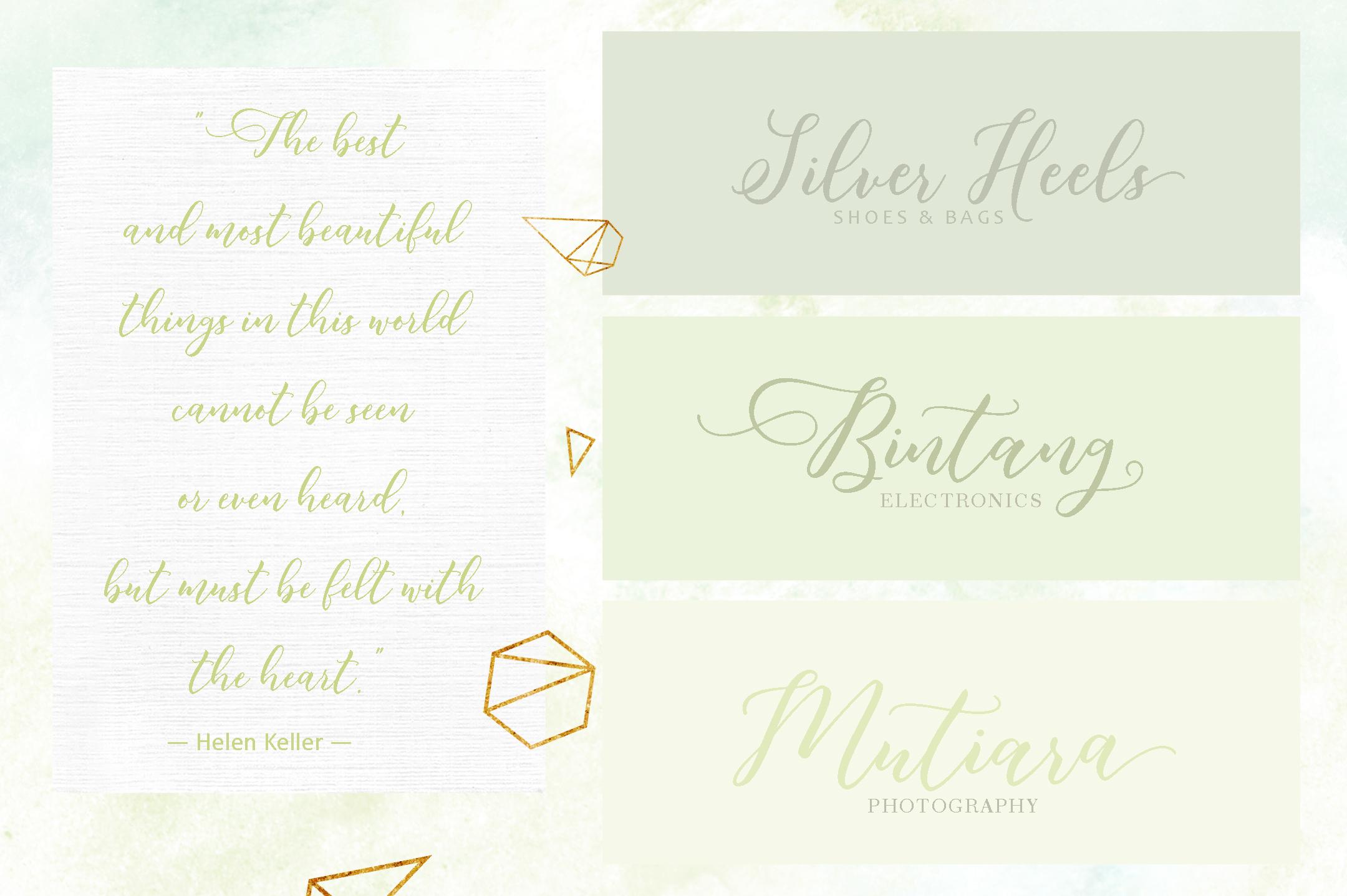 Butterflies Script example image 4