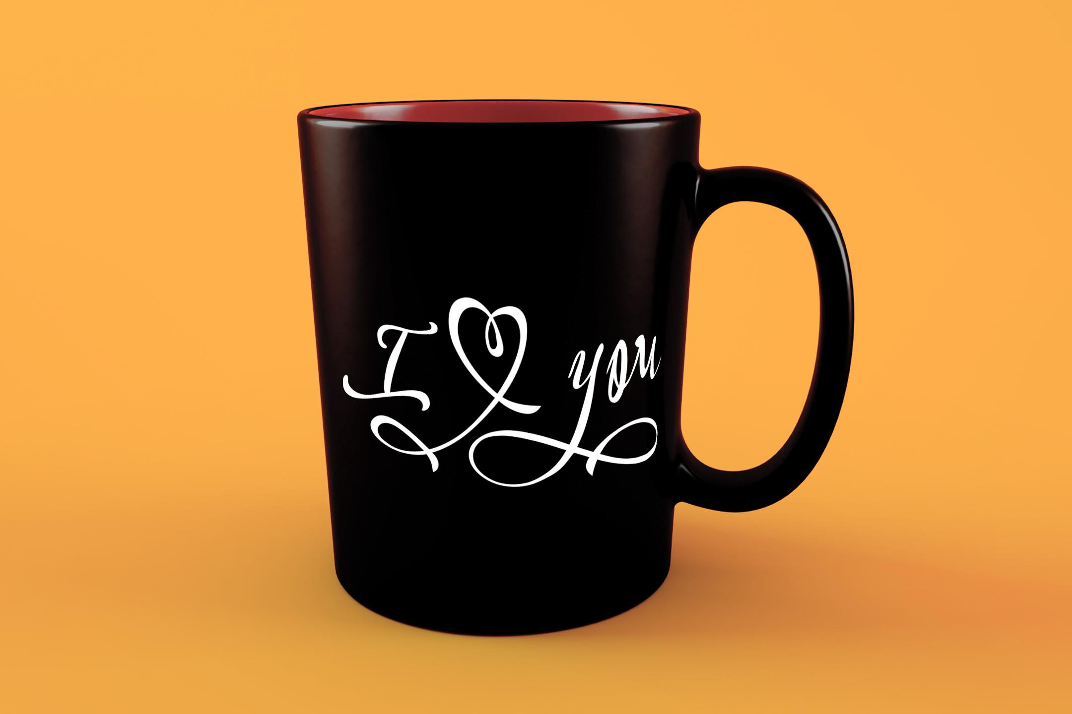 I love you svg Valentine svg Love heart svg example image 4