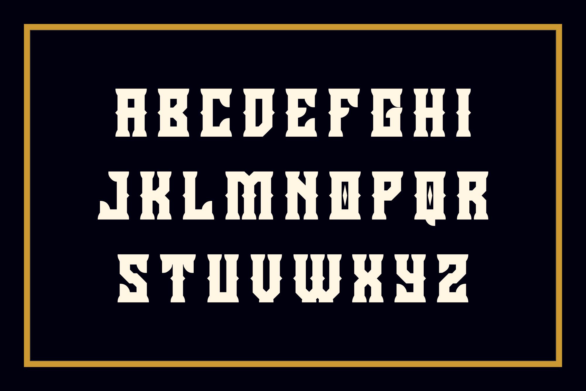 Holics Typeface example image 3