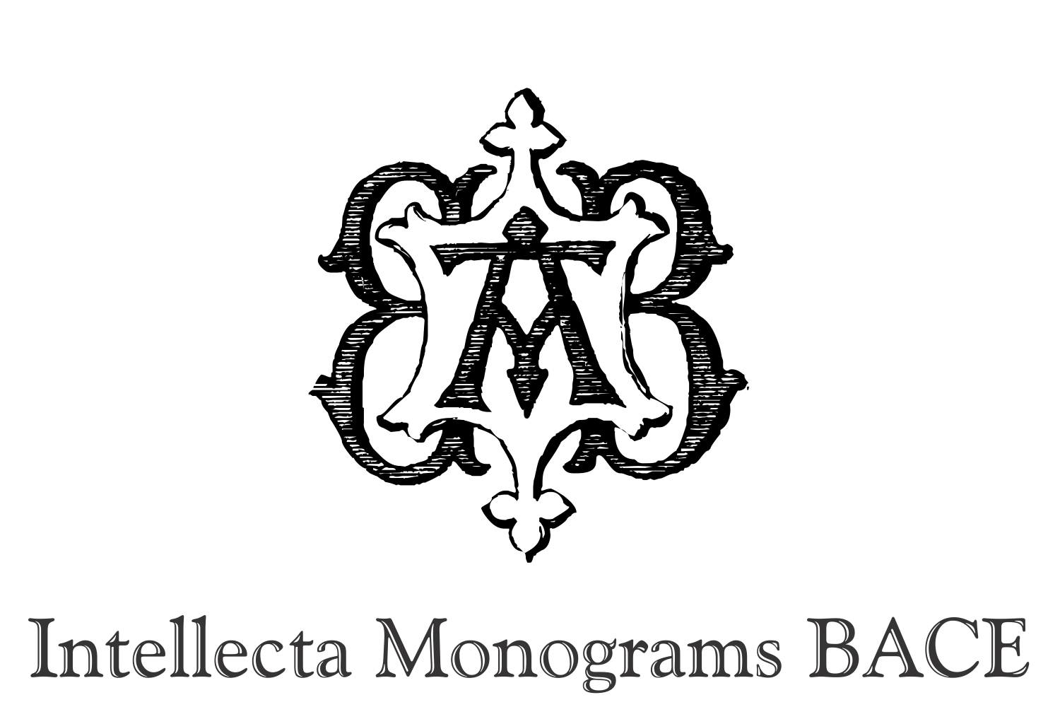 Intellecta Monograms BACE example image 1