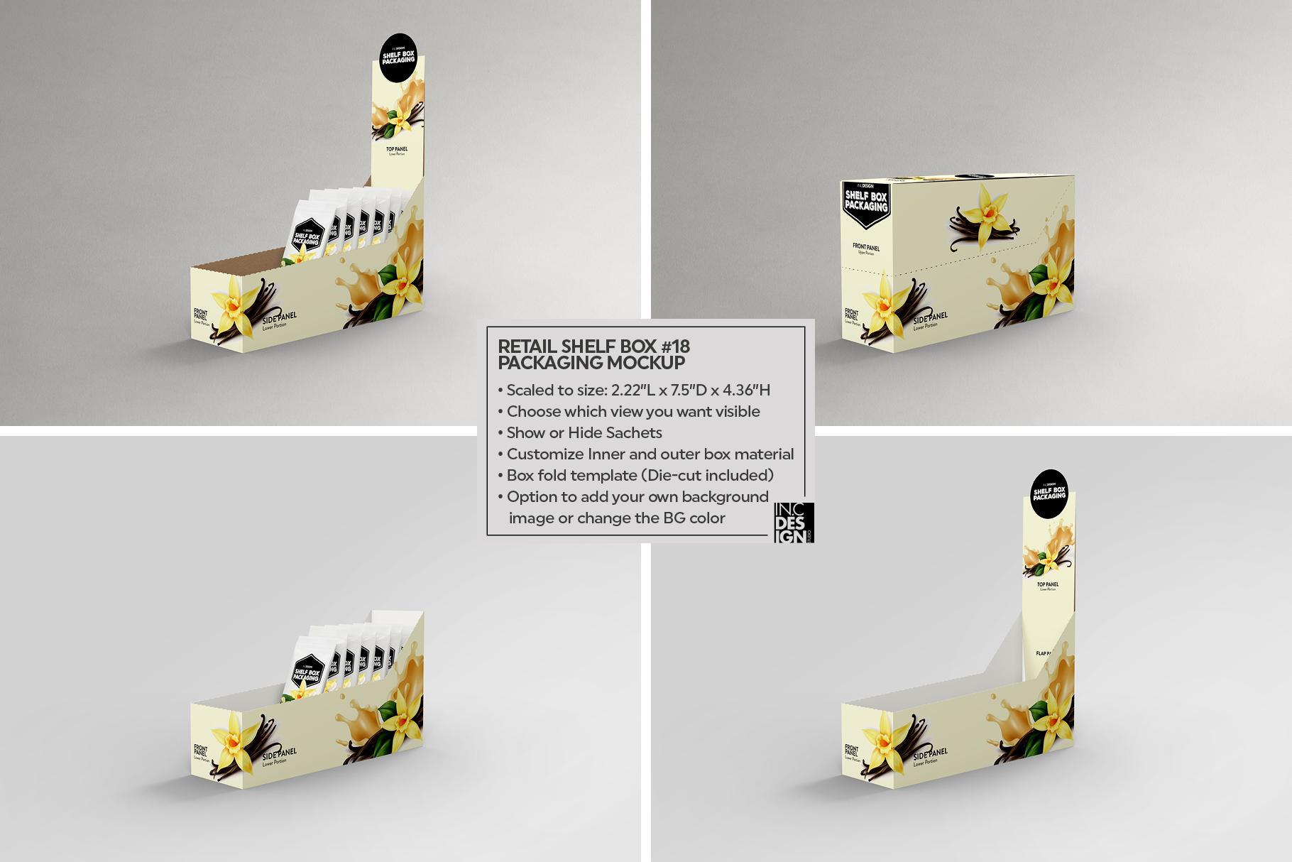 Shelf Box Packaging Volume 4 example image 9