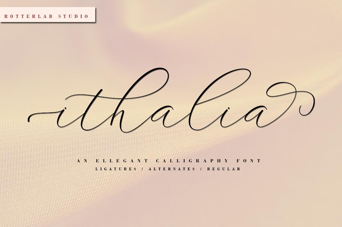 ithalia script example image 1