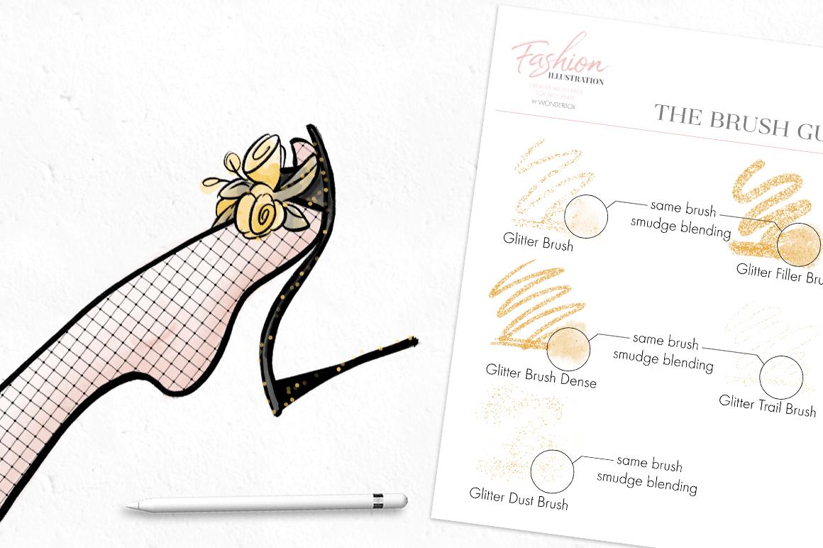Fashion Illustration Brushes for Procreate example image 6