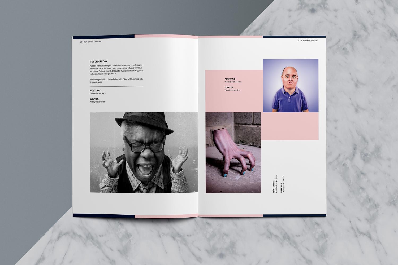 Designer Portfolio-48 Pages example image 17