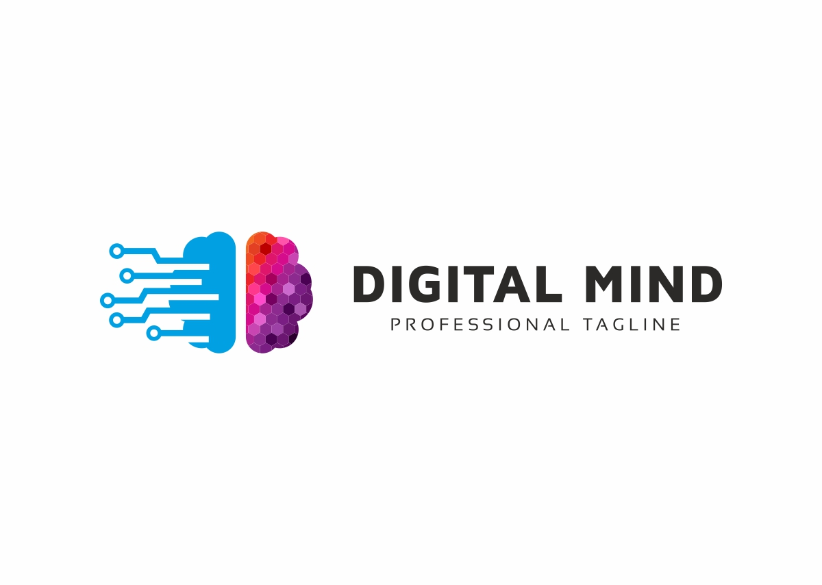 Digital Mind Logo example image 3