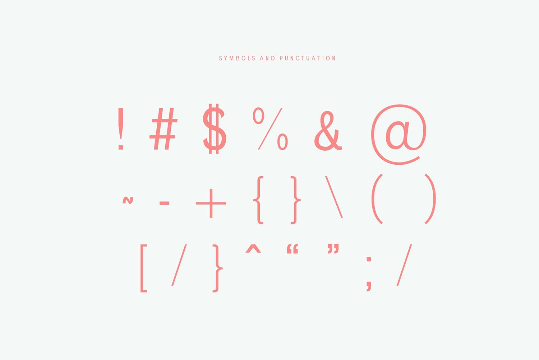 Chelina Slab Serif Font Family example image 5