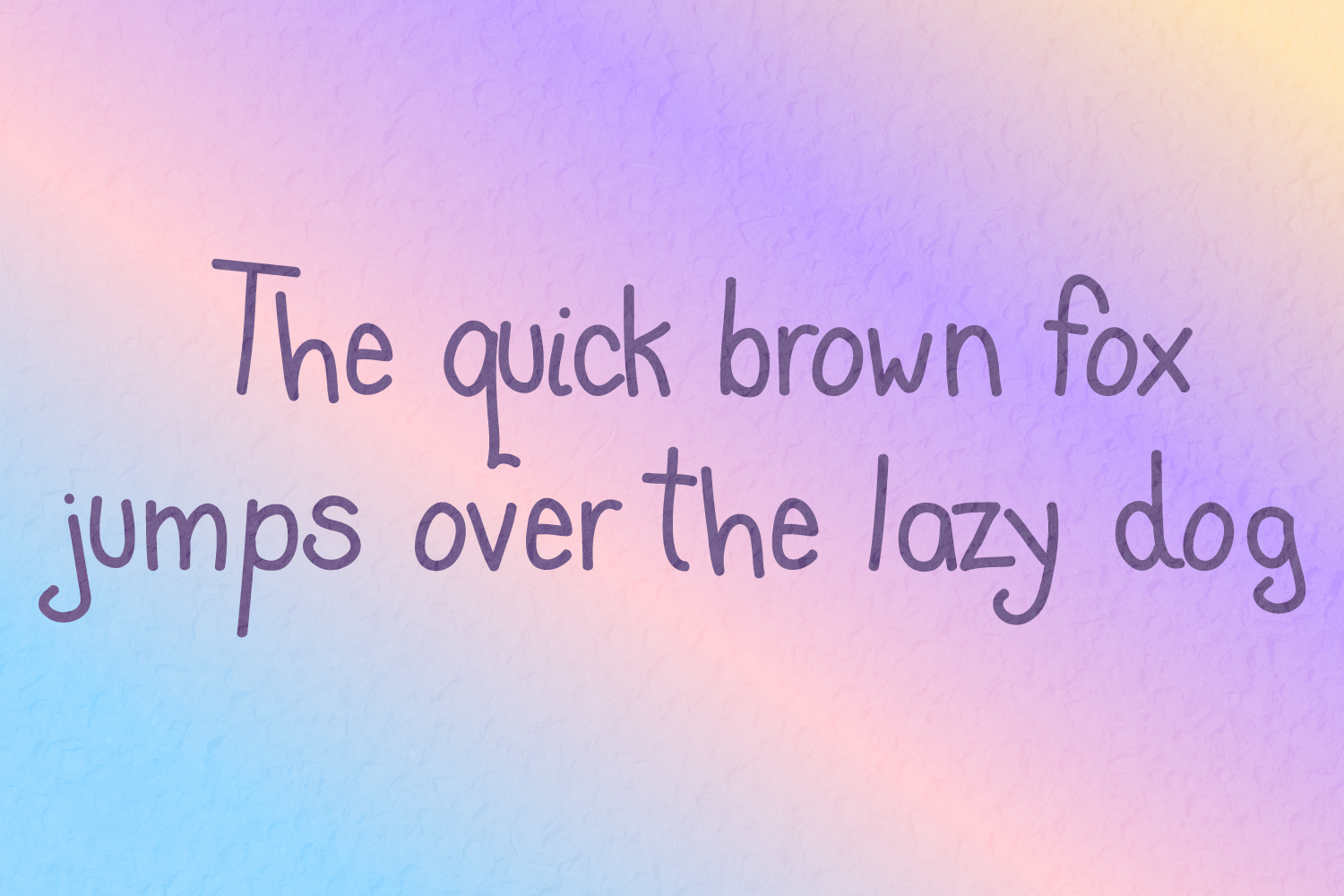 Cute Blunder- quirky hand-drawn font example image 3