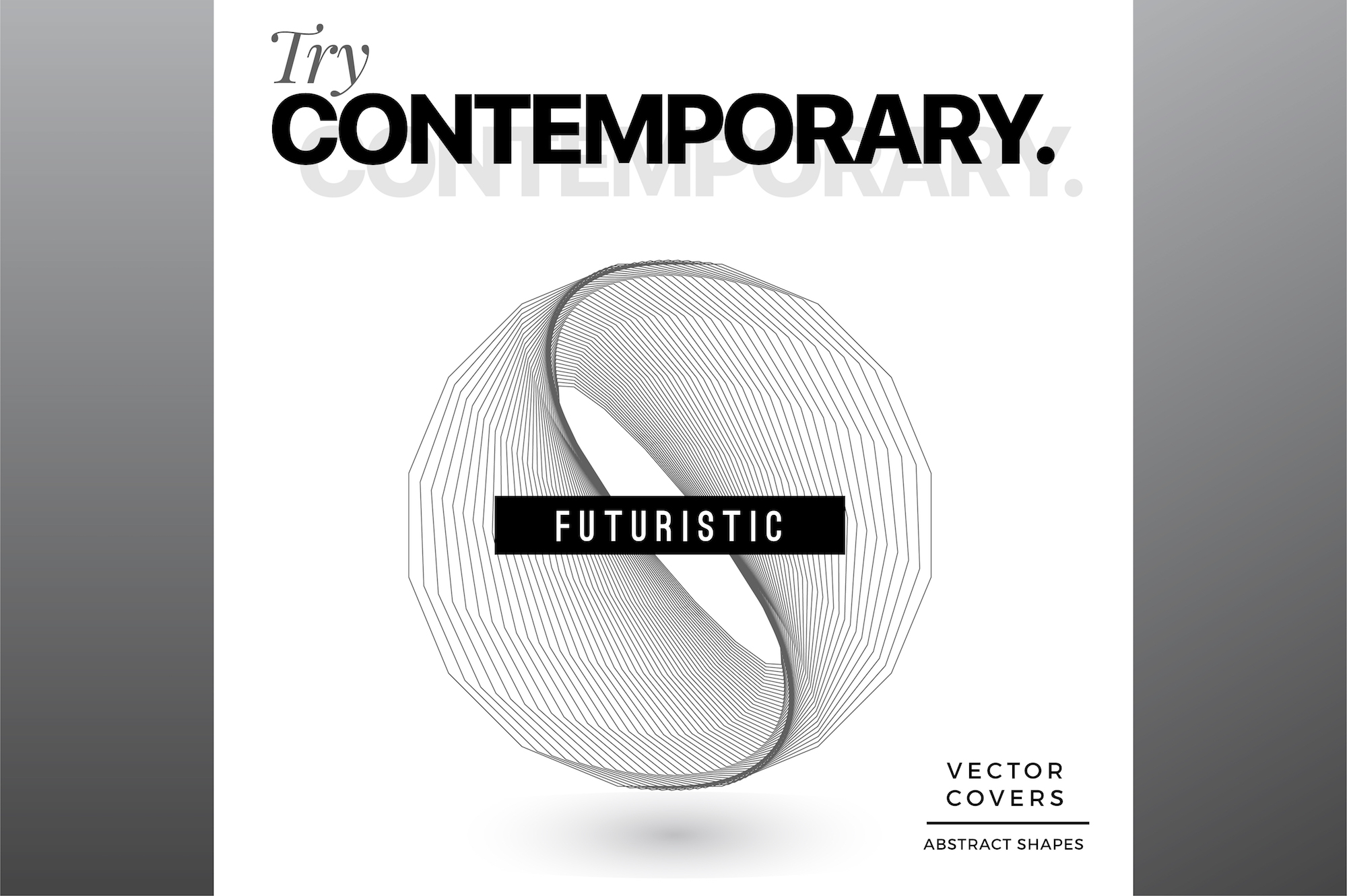 Try Contemporary - Geometric Covers example image 1
