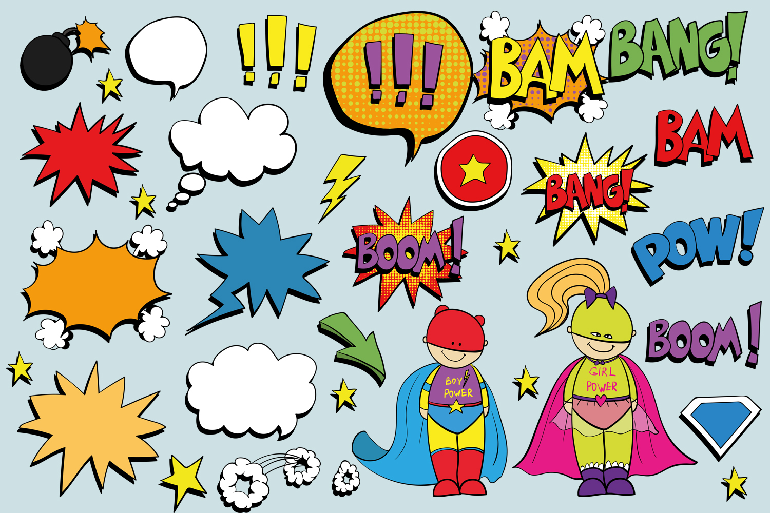 Superheroes example image 2