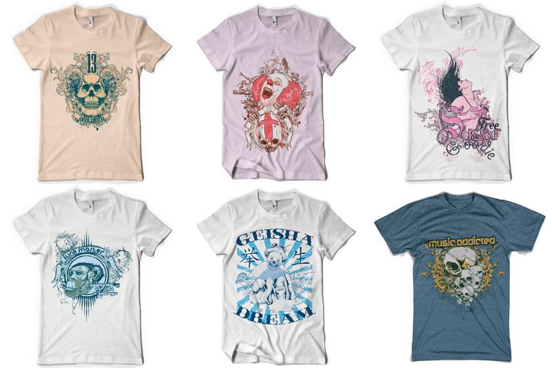 100 T-shirt Designs Vol 2 example image 6