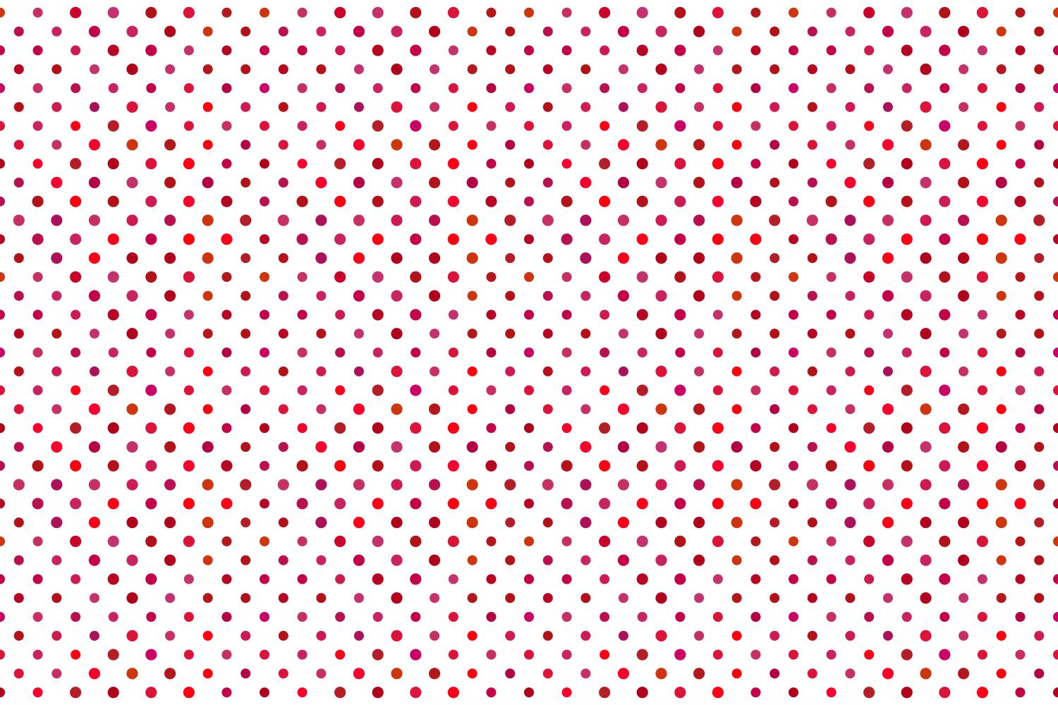 24 Seamless Red Dot Patterns example image 7