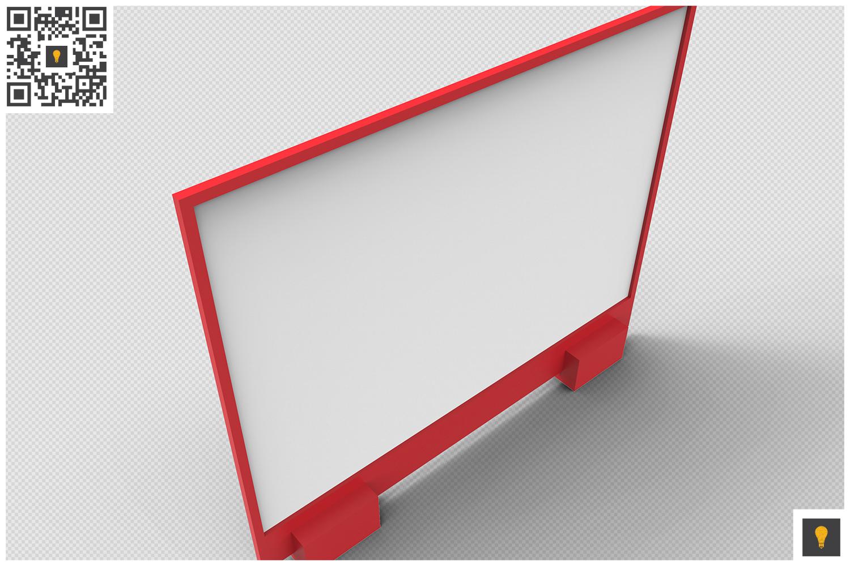 Flyer Display 3D Render example image 16