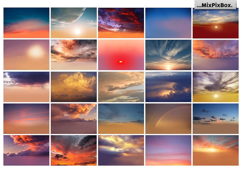 Sunset Sky Photo Overlays example image 5