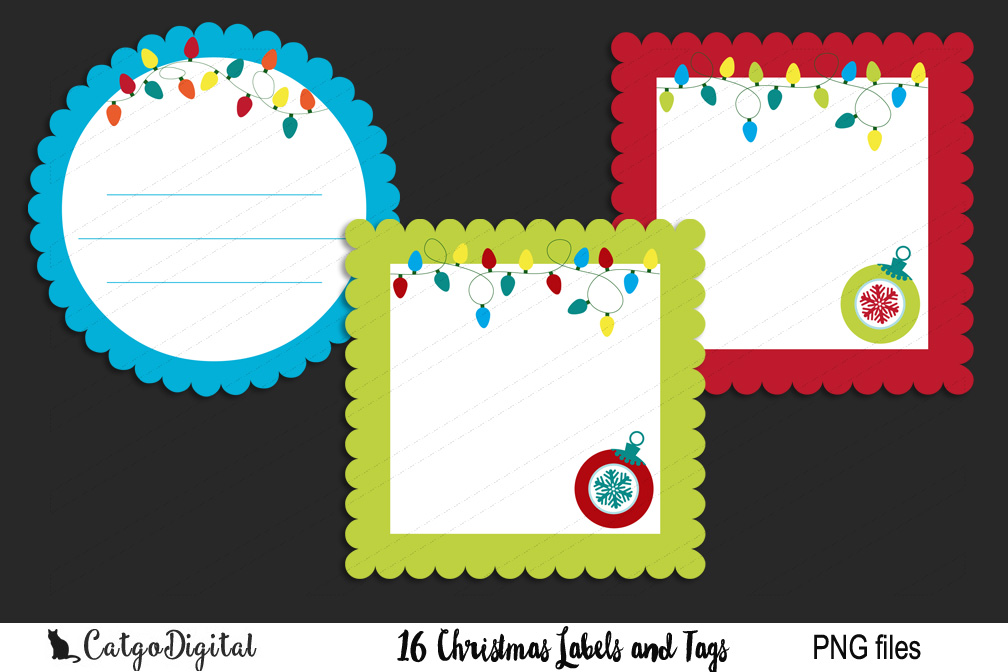 Christmas Labels and Tags example image 2