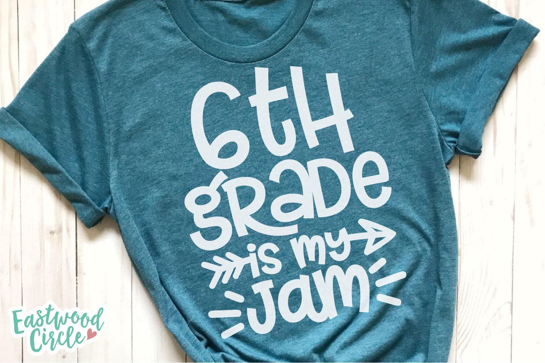 School Is My Jam SVG Bundle - Back to School Cut Files example image 10