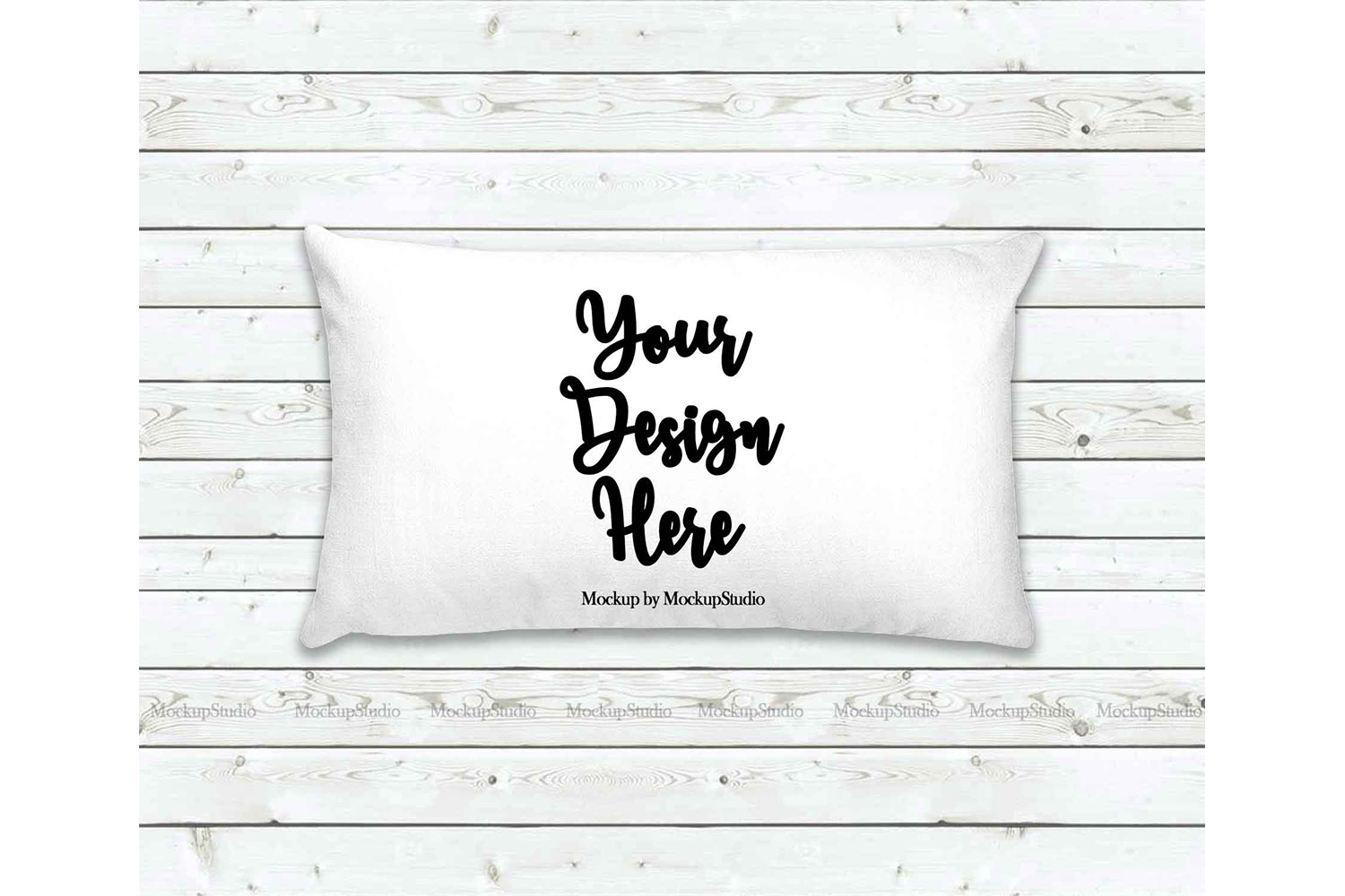 Throw Pillow Mockup Bundle 6 Images, Pillow Flat Lay Display example image 7