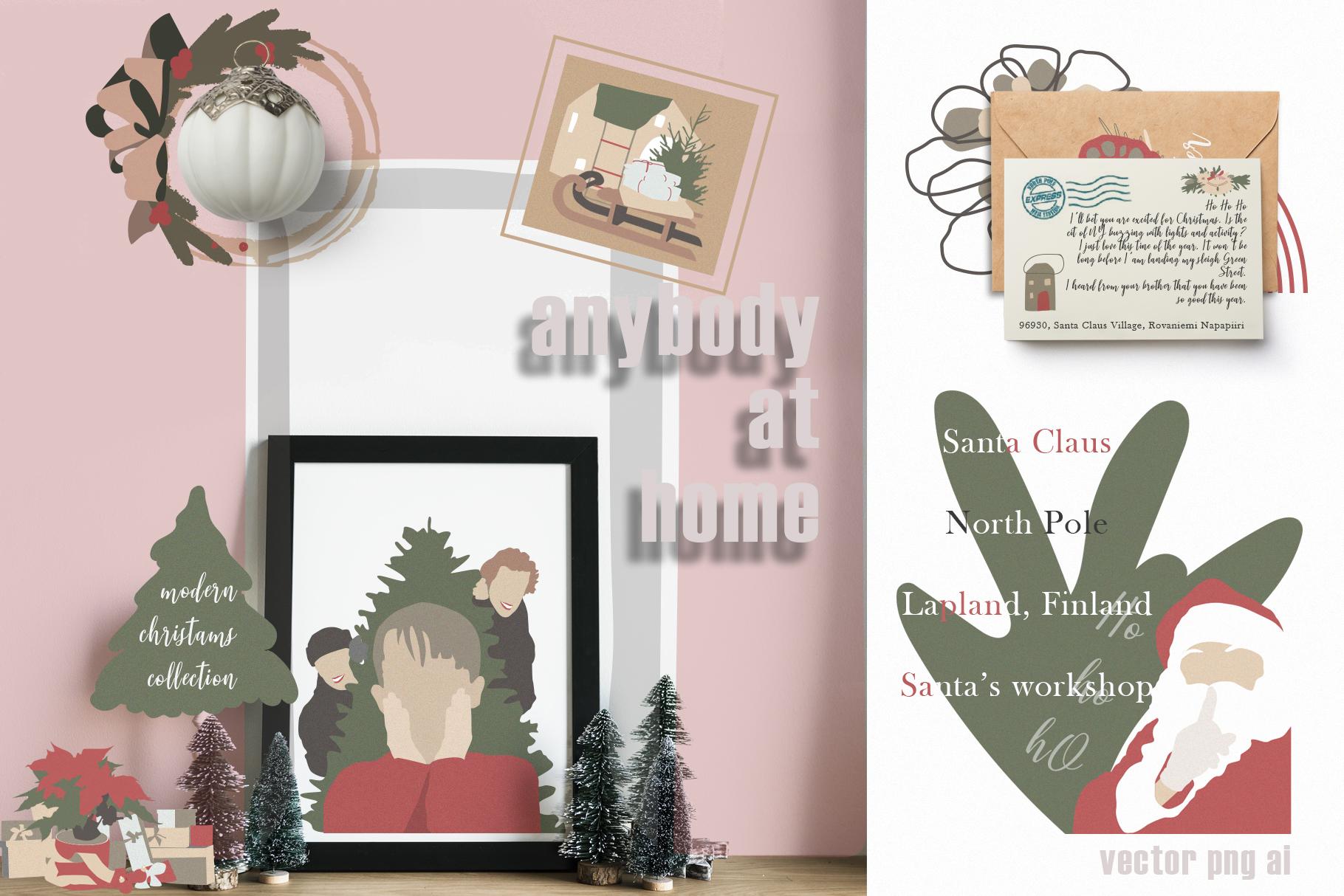 Christmas Secret Modern Graphic Set example image 10