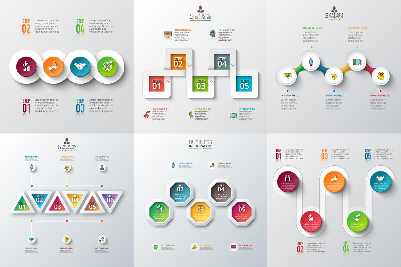 Infographic elements bundle v.01 example image 5