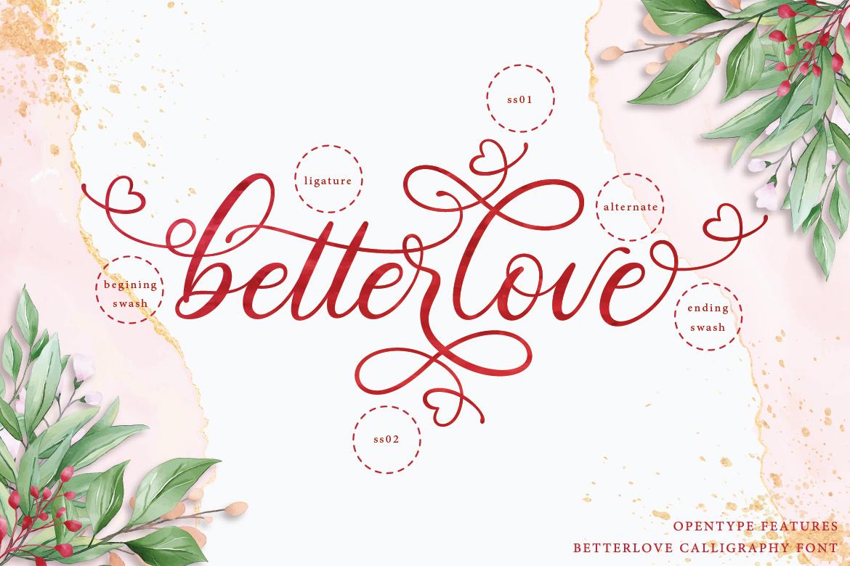 Betterlove Calligraphy example image 6