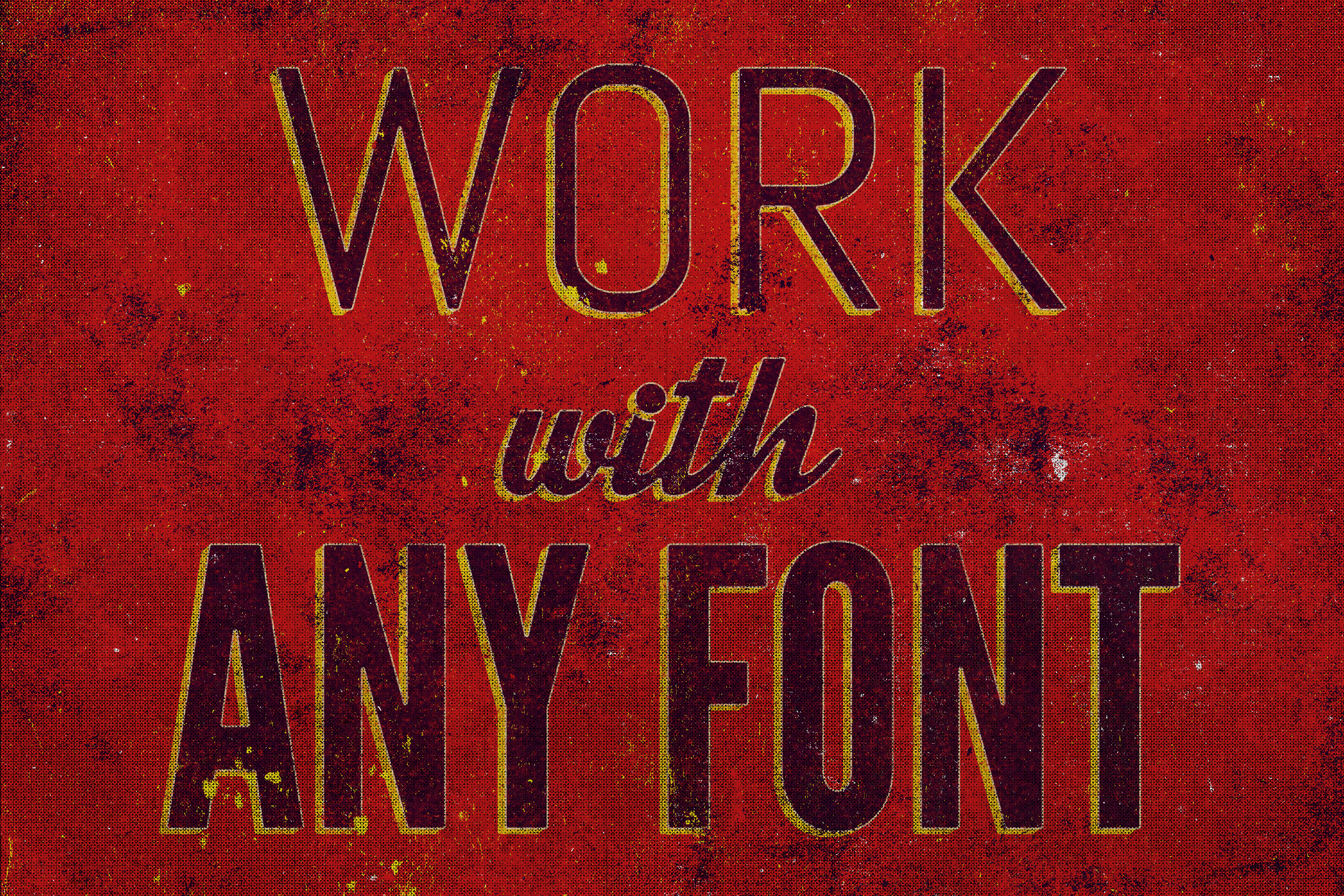 Grunge - Vintage Text Effect example image 6