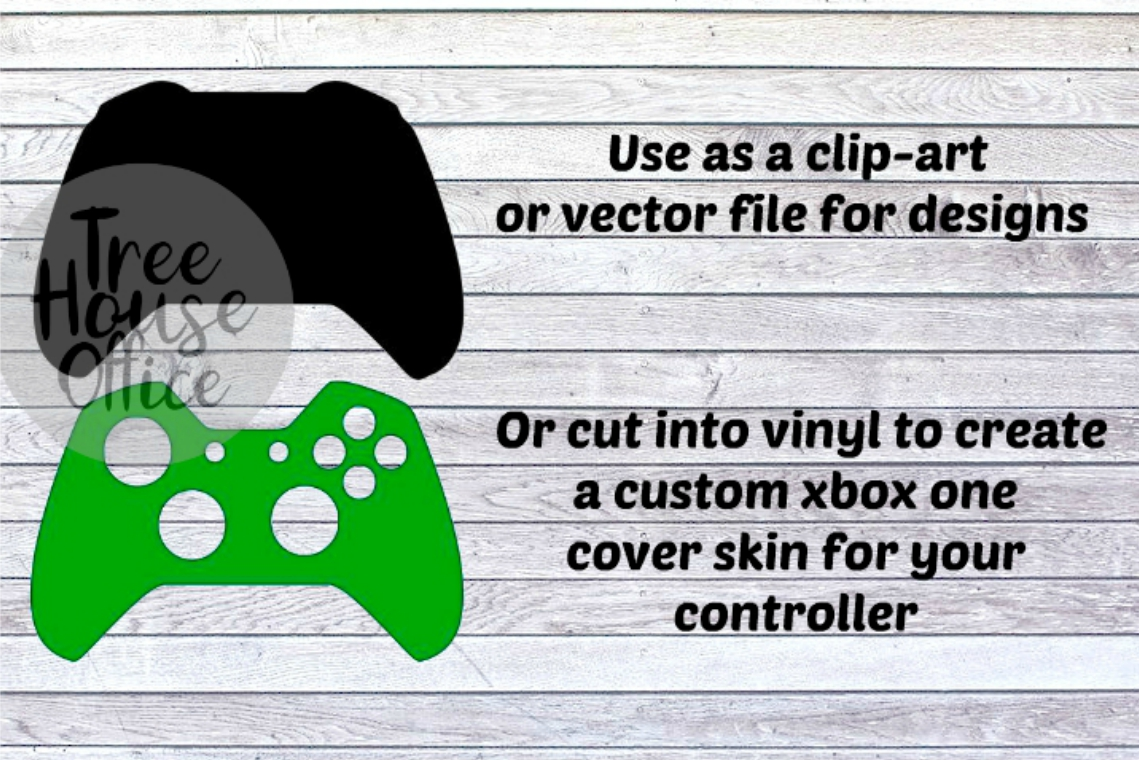 XBOX One Controller Skin Cover Sticker Clip Art PNG JPEG SVG example image 2