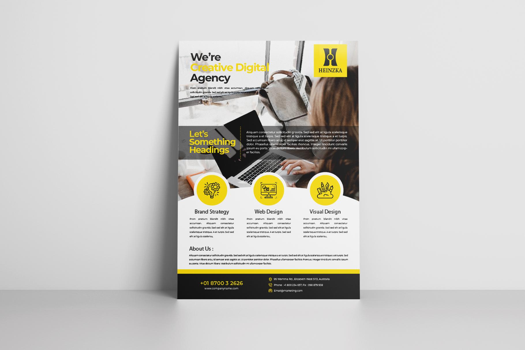 Creative Corporate Flyer Vol. 01 example image 5
