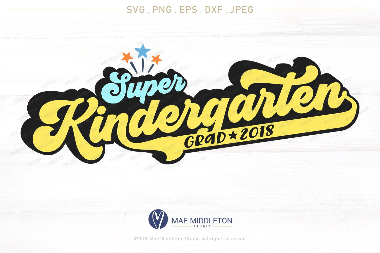Mini Bundle Preschool, Kinder, Senior Grad - editable years example image 5