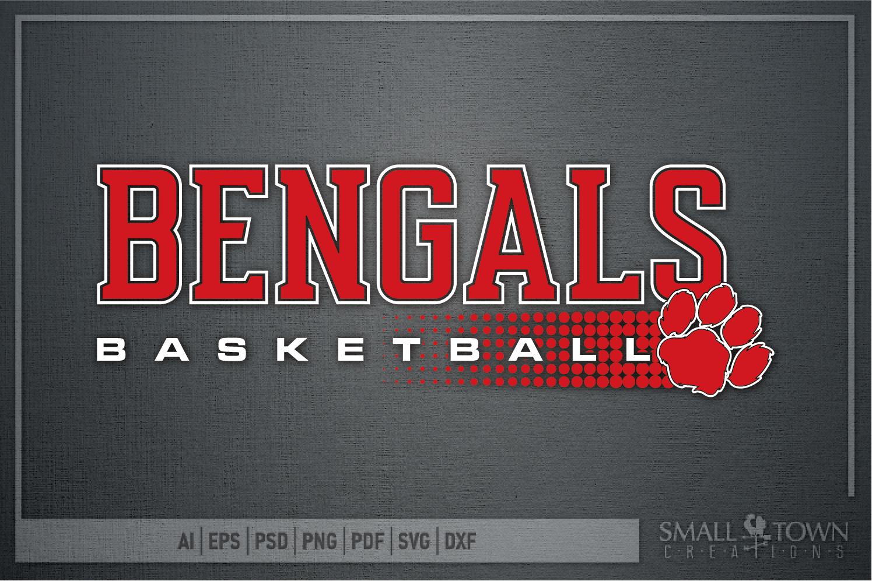 Bengal, Basketball, Sport, Team, Logo, PRINT, CUT, DESIGN example image 5