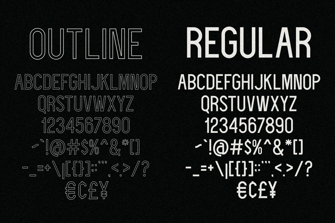 Deflagrate Fonts example image 3